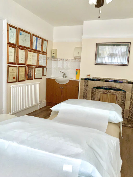 osteopathy treatment room